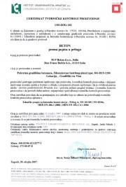 Certifikat 1/05-ZOG-102